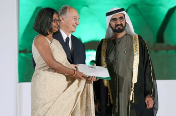 Aga Khan in Al Ain for architecture awards | The National UAE