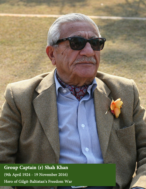 Group Captain Shah Khan, Hero of Gilgit-Baltistan's War of Freedom (Image credit: Pamir Times)