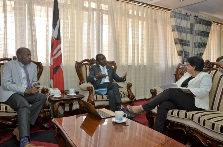 Kenya: Cabinet Secretary for Information, Communications and Technology receives senior Aga Khan Development Network official
