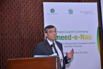 Aga Khan University's Maternal/child health project Umeed-e-Nau launched in 14 districts of Pakistan