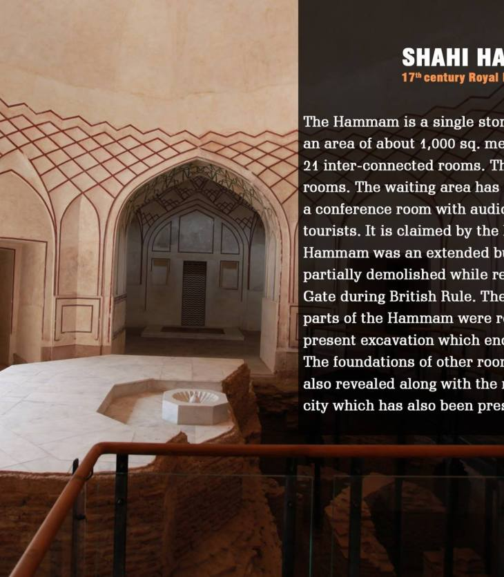 Shahi Hammam, an Aga Khan Trust for Culture project in Lahore, Pakistan wins UNESCO Asia-Pacific Awards for Cultural Heritage Conservation 'Award of Merit' (Image credit WCLA Facebook)