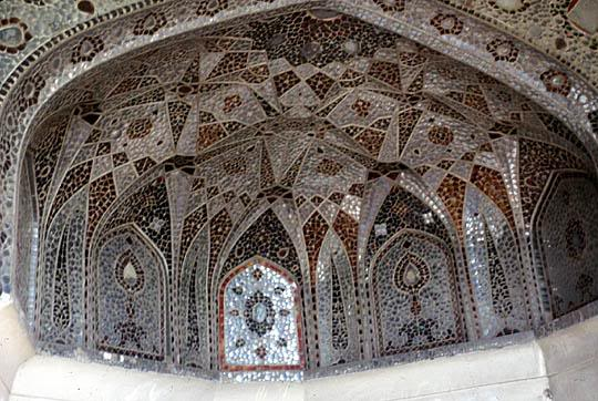 Sheesh Mahal at the Walled City of Lahore.