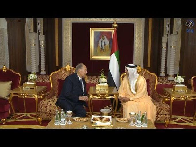 Mansour bin Zayed receives Prince Aga Khan IV (Video)