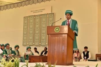 Aga Khan University's 29th Convocation (2016)