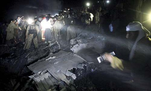Pakistan in grief over airliner tragedy |Dawn