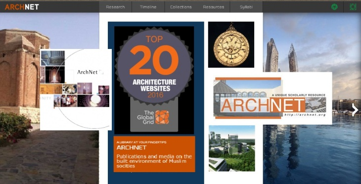 Archnet named one of the Top 20 Architecture Sites for 2016 by The Global Grid