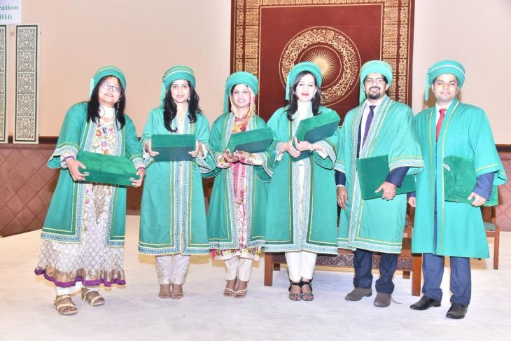 Best graduates at AKU's 21st PGME graduation ceremony