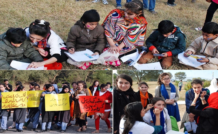 Hashoo Foundation and Shehzad Roy's Zindagi Trust sponsor walkathon to promote quality education