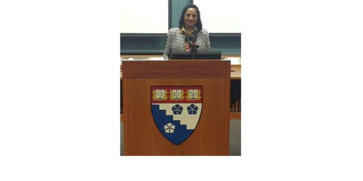 Girls' Education as a Pathway to Global Women's Empowerment: Sajida H. Shroff Speaks at the Harvard University