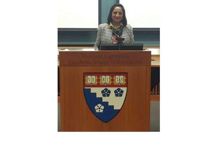 Girls' Education as a Pathway to Global Women's Empowerment: Sajida H. Shroff Speaks at the Harvard University