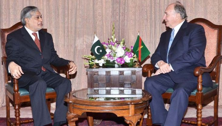 Pakistan's Minister for Finance meets His Highness the Aga Khan