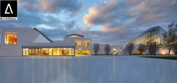 """Dec 2, 2016: Ismaili Centre, Toronto profiled as """"Project of the Day"""" by Architizer (image credit: Architizer)"""