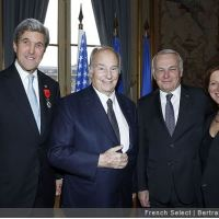 2 Photo Galleries: His Highness Prince Karim Aga Khan at US Secretary of State, John Kerry's Légion d'honneur decoration ceremony