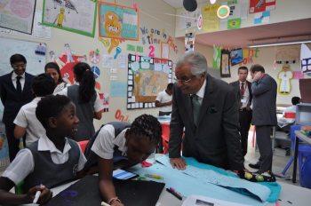 French delegation visits the Aga Khan Academy Maputo | Aga Khan Academies