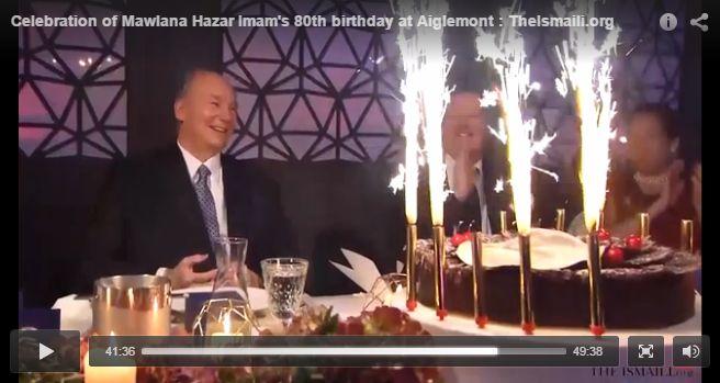 Video & Photo Gallery: Imam of the Ismaili Muslim Community, His Highness the Aga Khan's milestone 80th birthday celebration