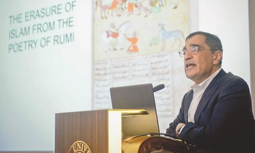 'Aesthetic approach of Islam is the way forward' - Professor Ali Asani of Harvard at Habib University, Pakistan