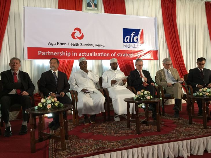 Aga Khan Development Network (AKDN) & French Development Agency - Agence Française de Développement (AFD) finance the expansion of Aga Khan hospitals in Kisumu & Mombasa (Image credit: AFD)