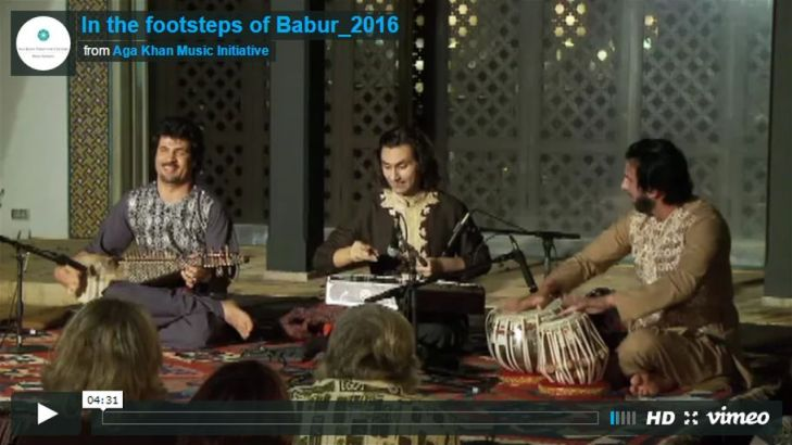 Aga Khan Music Initiative: In the footsteps of Babur