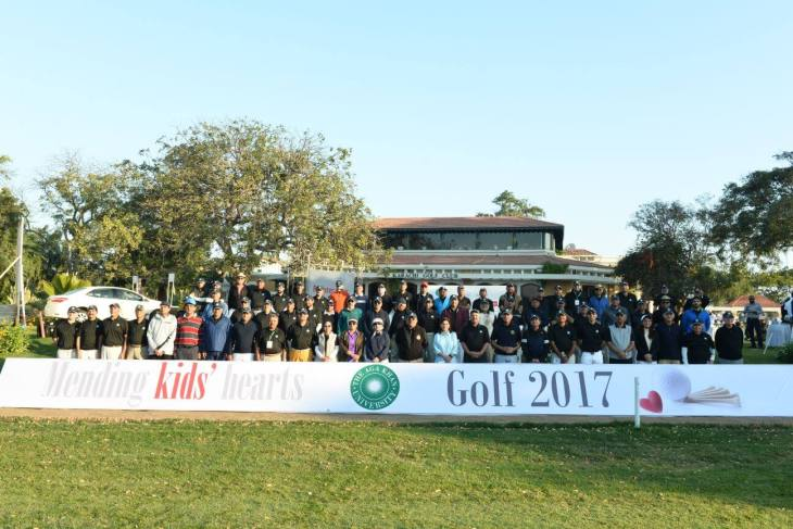 Mending Kids' Hearts: Civil Society came together over a game of golf to support Aga Khan University