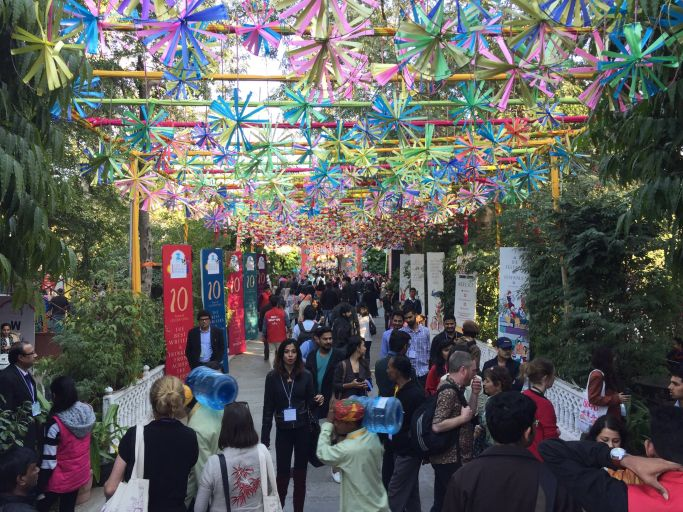 Aga Khan Foundation at the ZEE Jaipur Literature Fest 2017