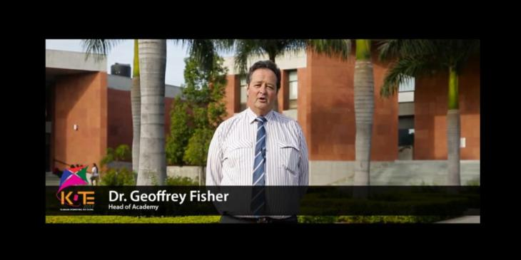 Dr. Geoffrey Fisher - Head of Aga Khan Academy Hyderabad, explains Kite Fest 2017