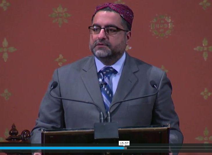 Hussein Rashid's sermon, delivered for the annual Tri-Faith Worship at Marble Collegiate Church