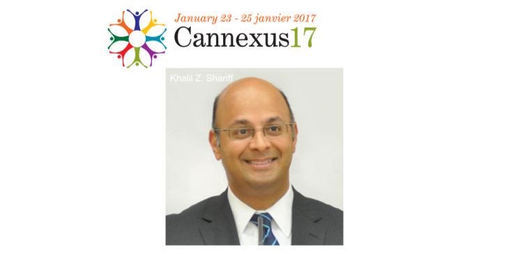 Aga Khan Foundation Canada's CEO Khalil Shariff to present 'What the World Needs Now: Pluralism' at Cannexus17 Conference