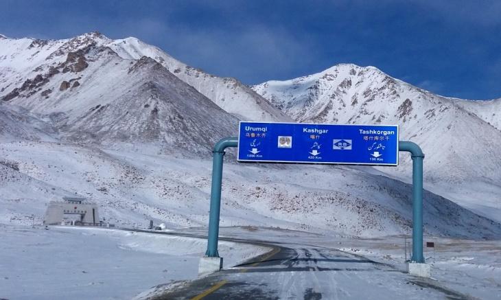 khunjerab pass pakistan china border 1
