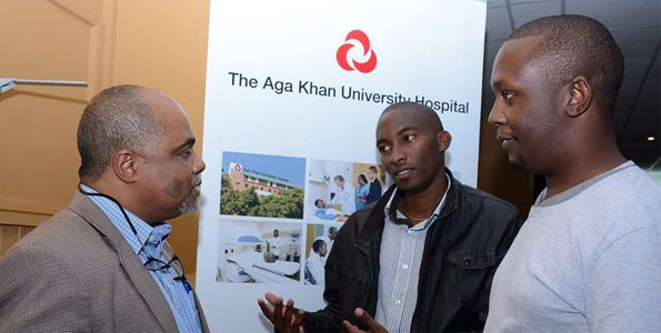Members of the Kidney Transplant Support Group at an event organised by the Aga Khan University Hospital.