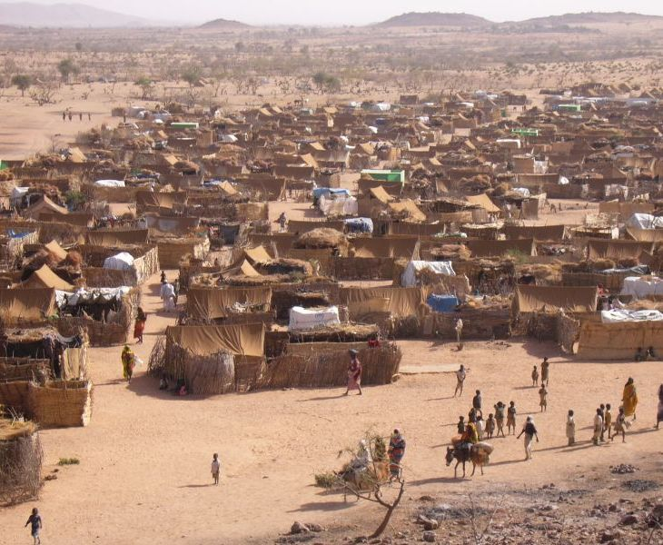 A Darfur refugee camp in Chad, circa 2005. (Image credit: Camden Herald )