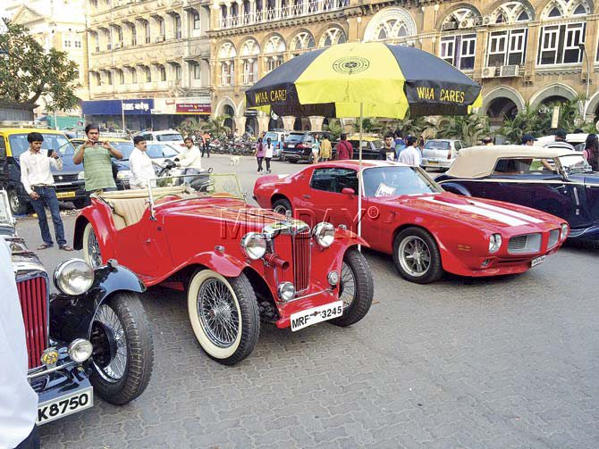 Amir and Murad Jetha comment on their vintage cars