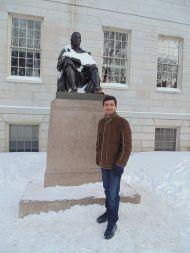 Visit to Harvard University.