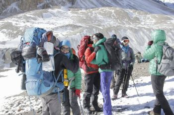 Pakistan's renowned mountaineer, Samina Baig leads first national women winter expedition