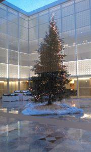 Christmas Tree at the Aga Khan Museum Toronto