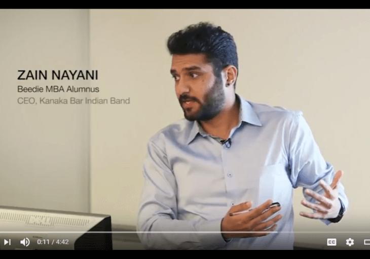 Zain Nayani: MBA Alumni Story | SFU Beedie School of Business