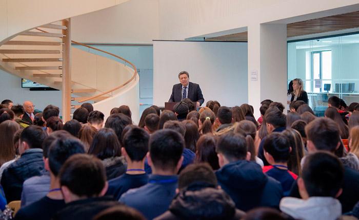 Mayor of Naryn Kyrgyzstan: UCA Stimulating Socio-Economic Development