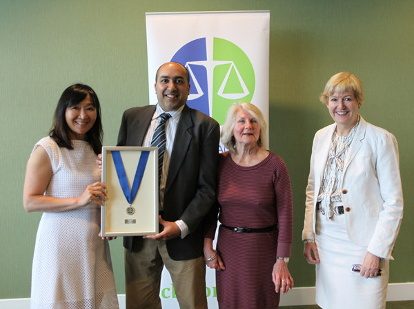 Lawyer Aleem Bharmal awarded President's Medal by Canadian Bar Association BC Branch