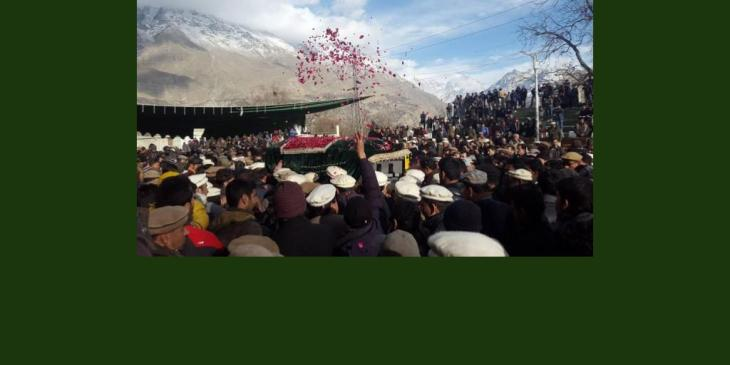 Ismaili Muslim Scholar, Father of Burushaski language, Allamah Nasir Hunzai laid to rest in his hometown of Hyderabad, Hunza