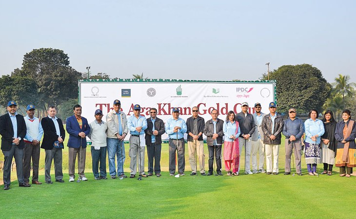 Aga Khan Gold Cup golf tournament tees off in Dhaka