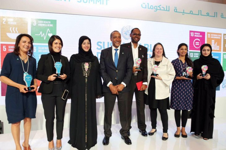 A chat with Anar Simpson on Women & Tech - Winner of SDG5 Award at the World Government Summit Conference