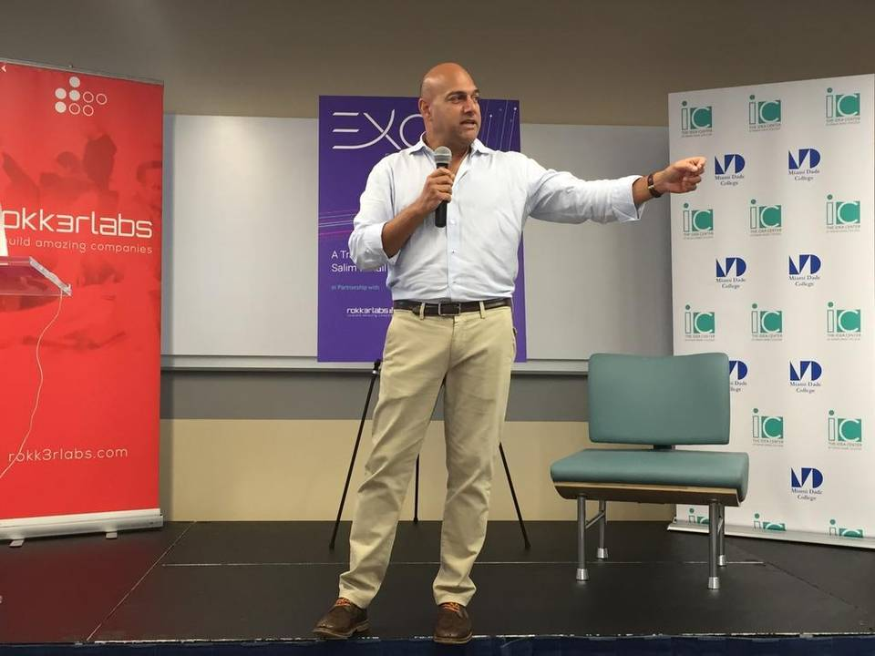 Talking Tech with Singularity's Salim Ismail | Miami Herald