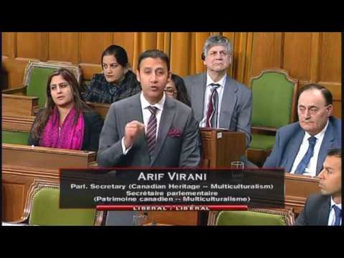 Canadian Ismaili-Muslim MP Arif Virani speaks in Parliament to address concerns over systemic racism and religious discrimination
