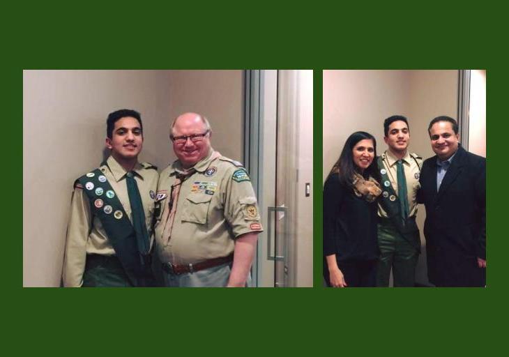 Rafi Surani: Eagle Scouts