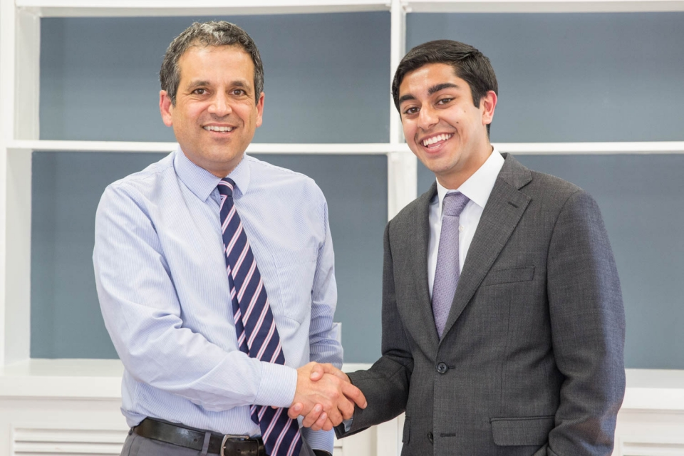 Karim Farishta awarded Truman Scholarship | The George Washington University