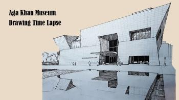 Drawing: Aga Khan Museum