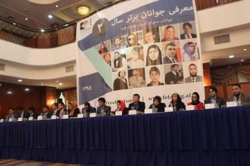 Abdul Ghaffar Nazari receives Young Successful Figure of the Year Award