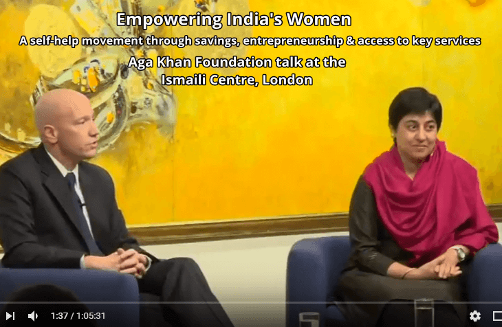 Aga Khan Foundation Talk: Empowering India's Women