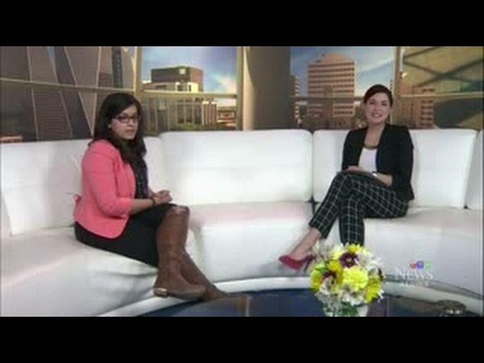 Zahra Fazal on CTV News Regina - Launch of Canada's World Partnership Walk 2017
