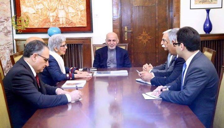AKDN Representatives meet President of Afghanistan