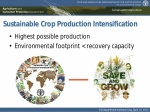"""Professor Amir Kassam: Release of the special edition """"Sustainable Crop Production Intensification"""" of the journal of AIMS Agriculture and Food"""